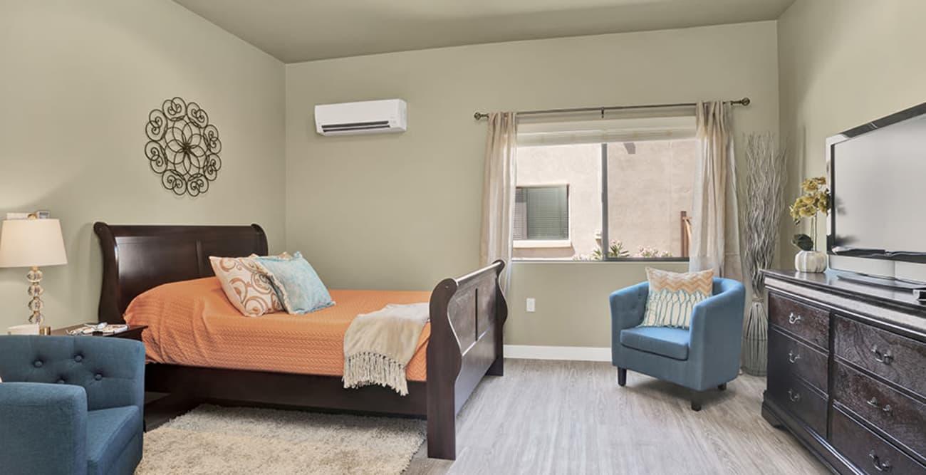 Bedroom at Hacienda Del Rey in Litchfield Park, Arizona