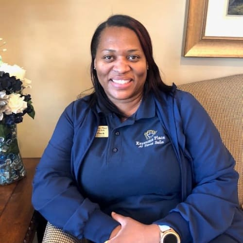Tameka Finch, Director of Health and Wellness at Keystone Place at Terra Bella in Land O' Lakes, Florida