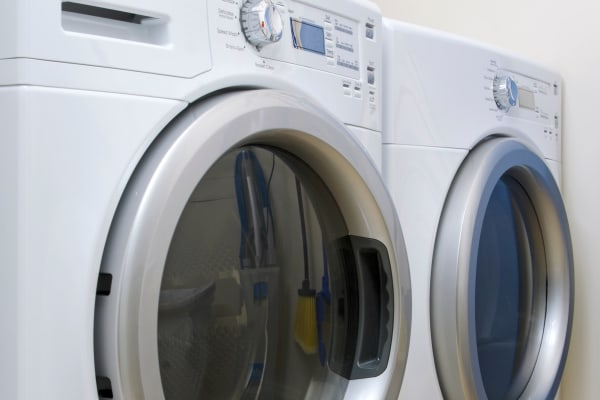 Washer and dryer at The Nathaniel in Rochester, New York