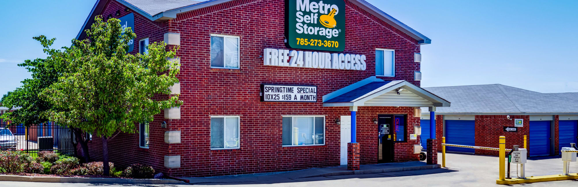 Metro Self Storage in Topeka, KS