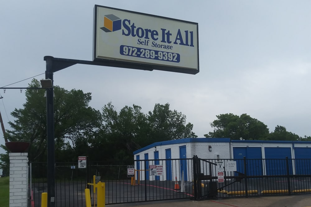 Exterior at Store It All FW LLC in Mesquite, TX