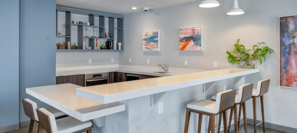 Luxurious kitchen at Crossings at Olde Towne