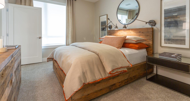 Nice bedroom at FalconView in Colorado Springs, Colorado