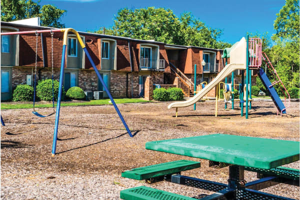 Playground at Post Ridge Apartments in Nashville, Tennessee