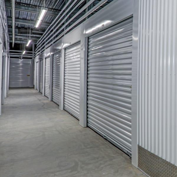 Interior units at at StorQuest Self Storage in Lakewood, Colorado