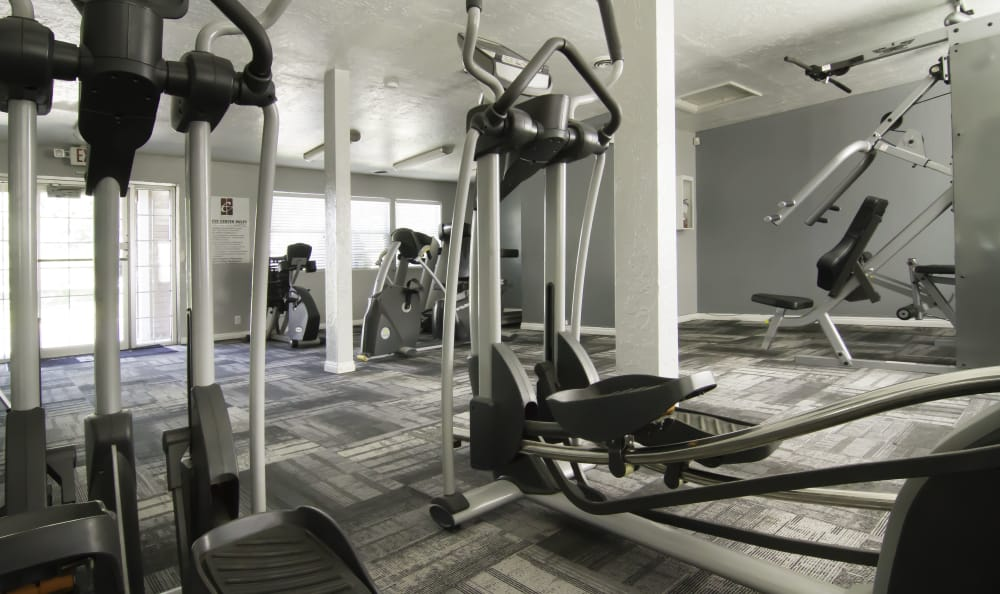 Gym installations at Callaway Apartments in Taylorsville, UT
