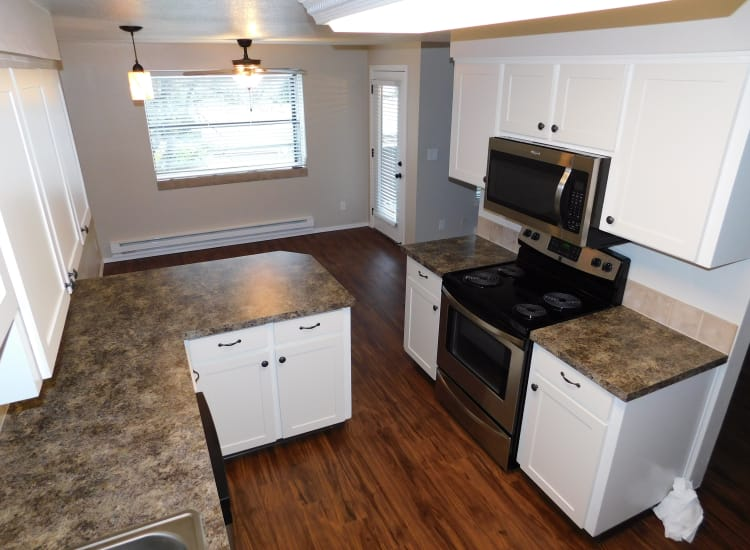 Updated kitchen at Town Center Heights in Happy Valley, OR