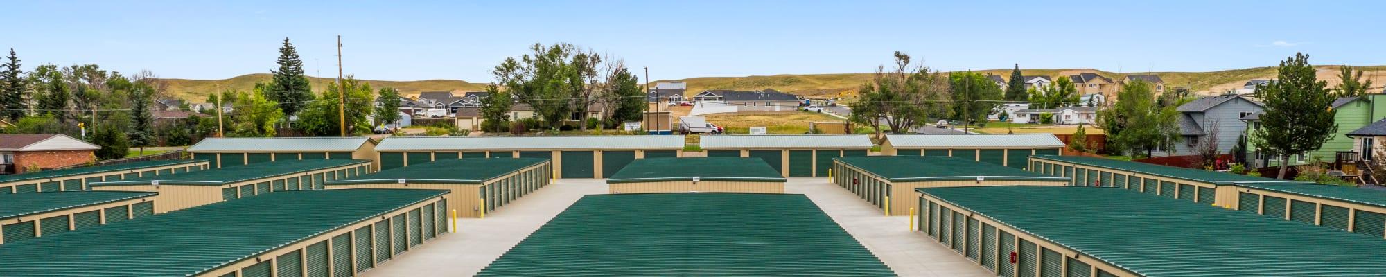 Units at Storage Star Cheyenne in Cheyenne, Wyoming
