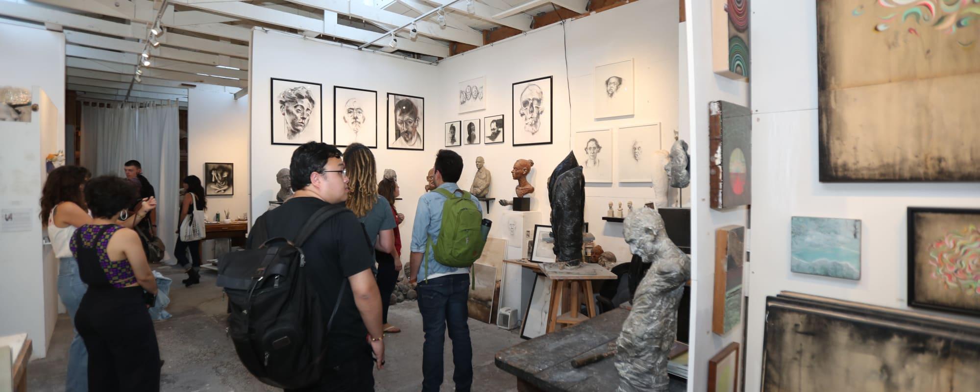 Art gallery near The Moran in Oakland, California