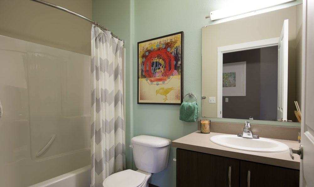 Bathroom at Terrene at the Grove