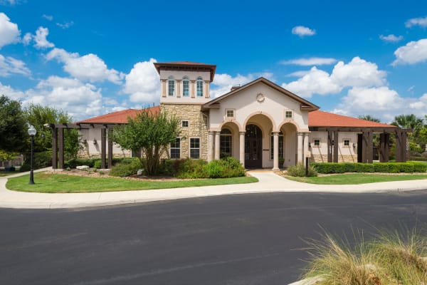 Community Clubhouse at Villas at Medical Center in San Antonio, Texas