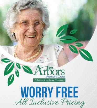 All-Inclusive Pricing at Arbors Memory Care