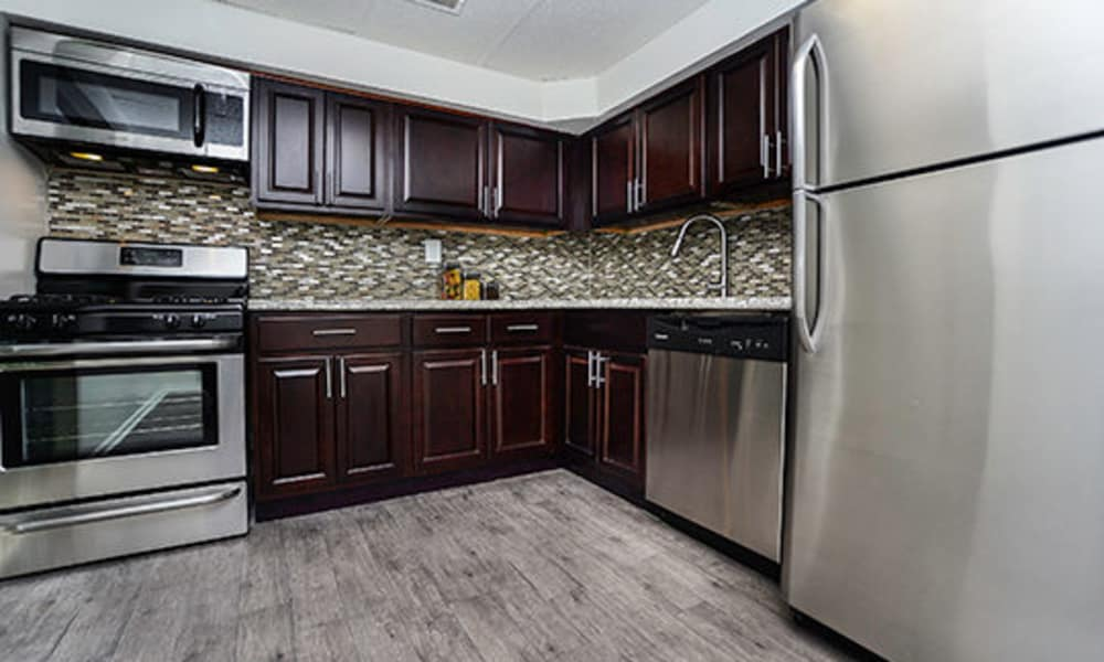 Forge Gate Apartment Homes offers a kitchen in Lansdale, PA