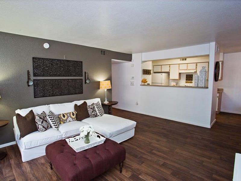 Apartment features at Monterra Apartment Homes