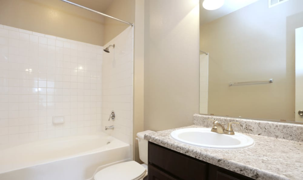 Relaxing Bathroom at Springs at Live Oak Apartments