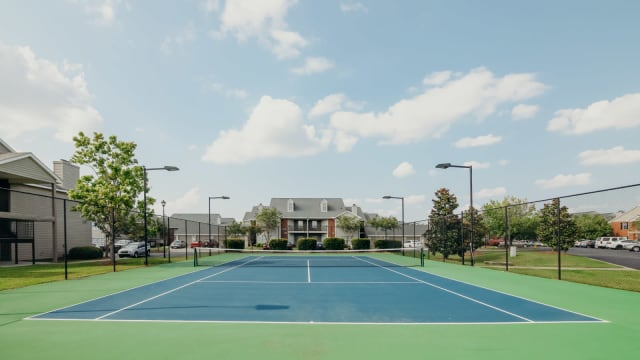 Tennis Court at Peppertree in Montgomery, Alabama