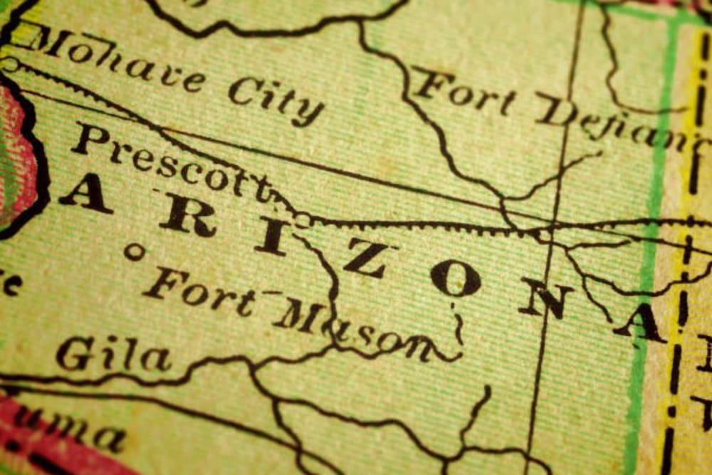 A map where The Oaks, A Merrill Gardens Community is in Gilbert, Arizona.
