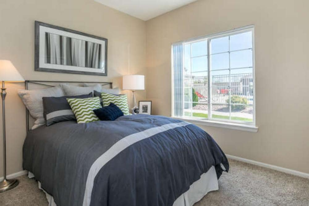 Master Bedroom at Westridge Apartments in Aurora