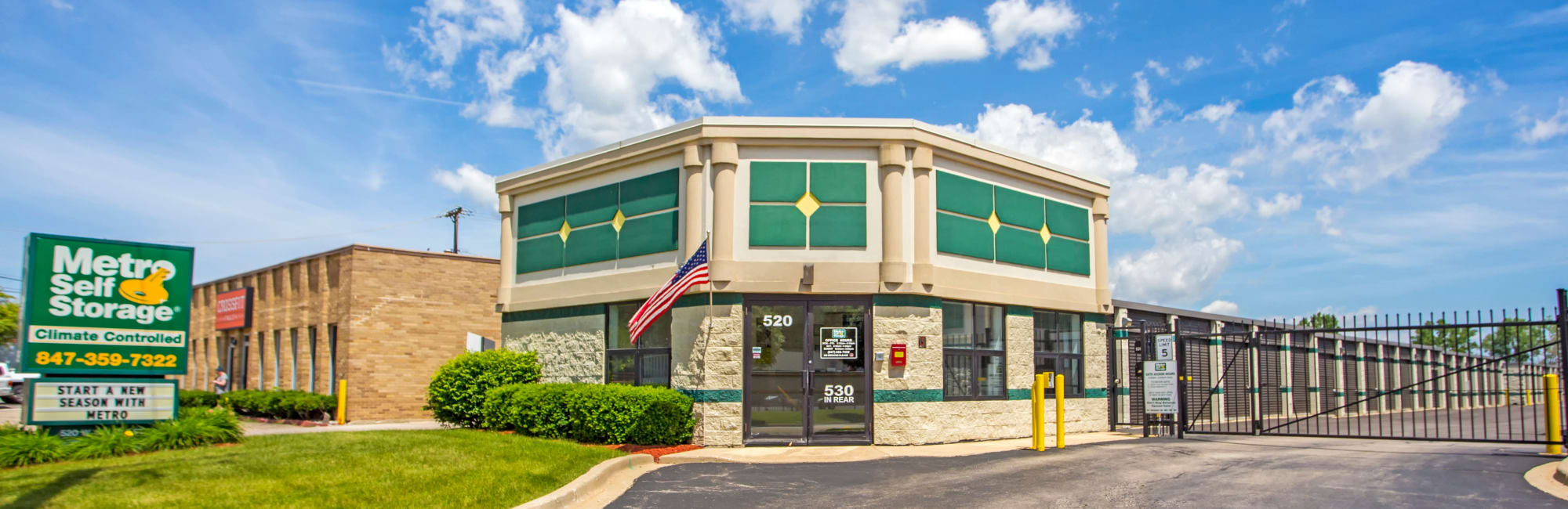 Metro Self Storage In Palatine Il