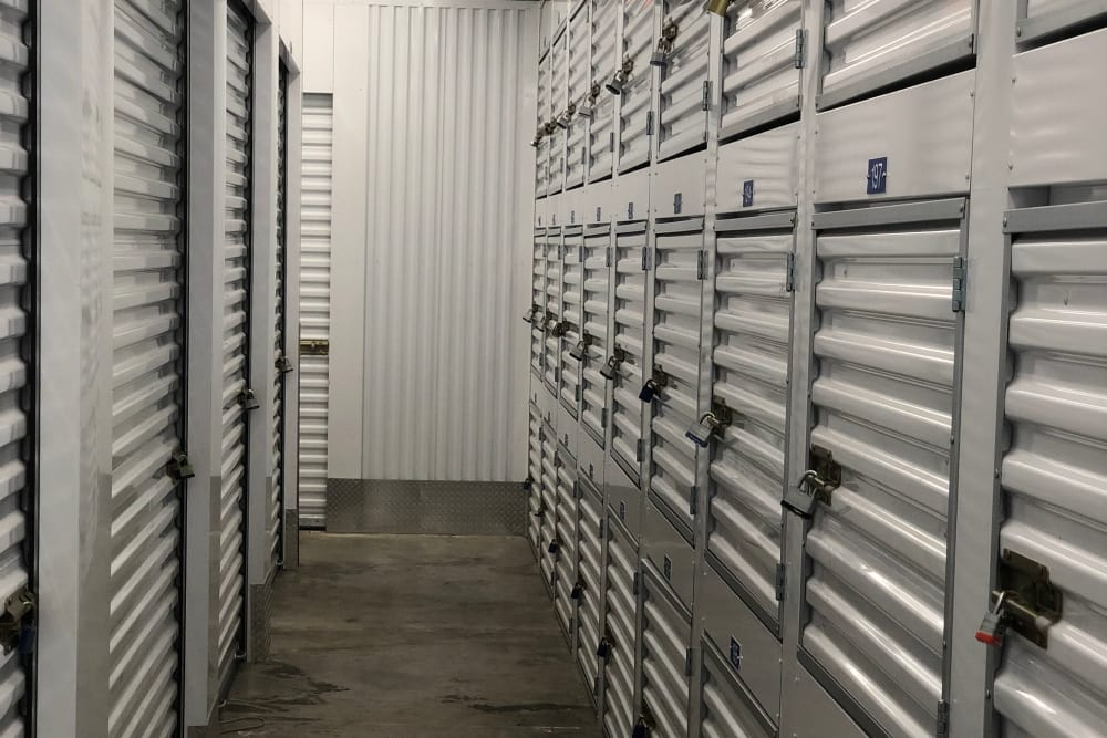 Climate controlled units at self storage facility in Miami Gardens, FL