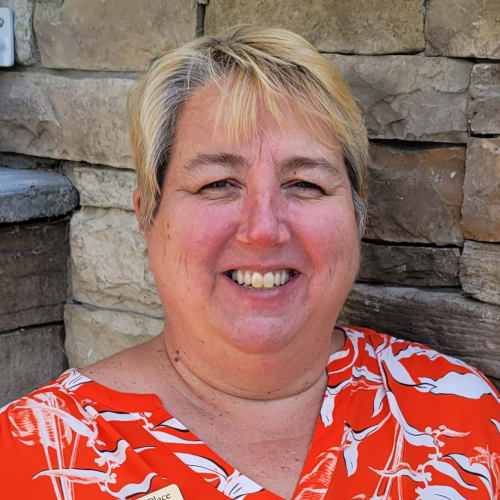Dottie Griffith, Executive Director of Keystone Place at  Buzzards Bay in Buzzards Bay, Massachusetts