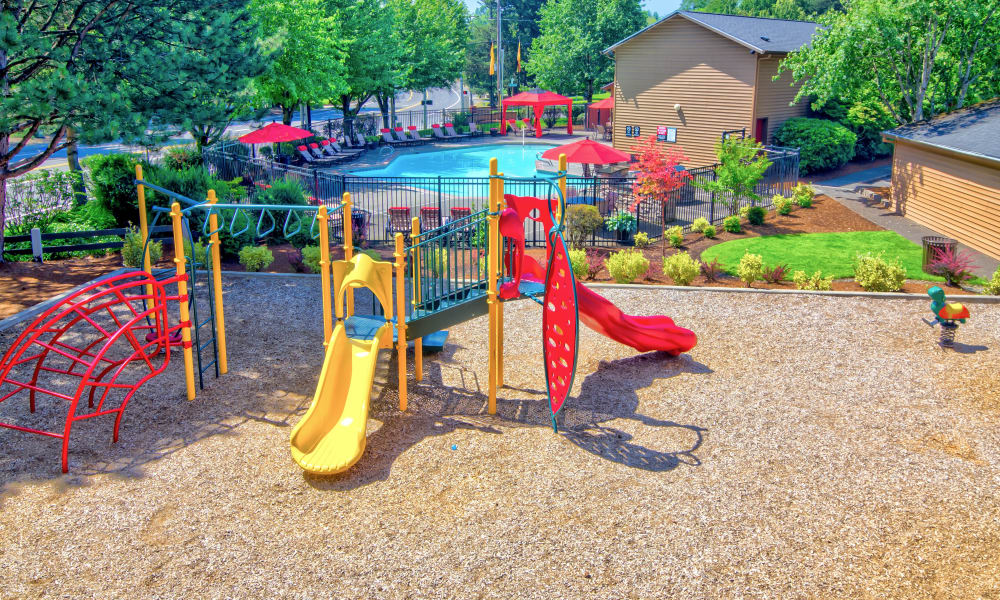 Enjoy apartments with a playground at Vista at 23 Apartments