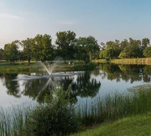 North Ponds Park in Webster, New York near Webster Green