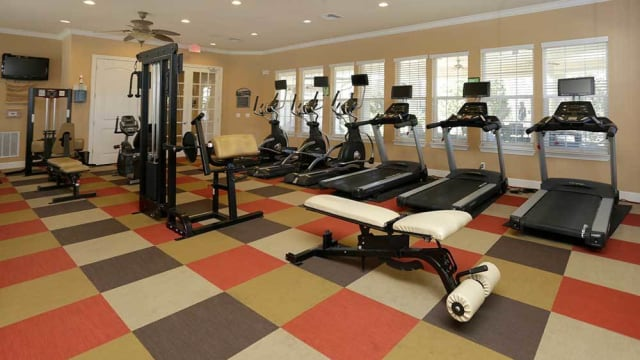 Integra Woods offers a fitness center in Palm Coast, FL