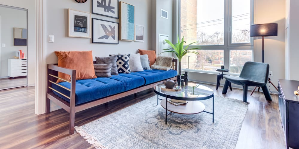 Beautifully furnished apartment at The Link Evanston in Evanston, Illinois