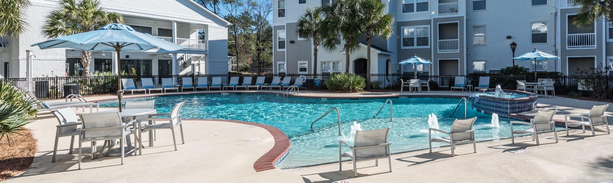 Residents of Ingleside Apartments in North Charleston, South Carolina
