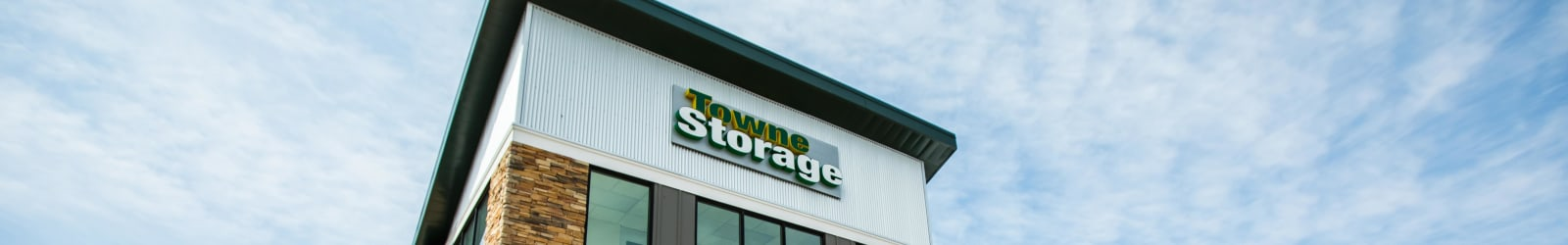Moving trucks at Towne Storage - Colt Plaza in West Valley, Utah