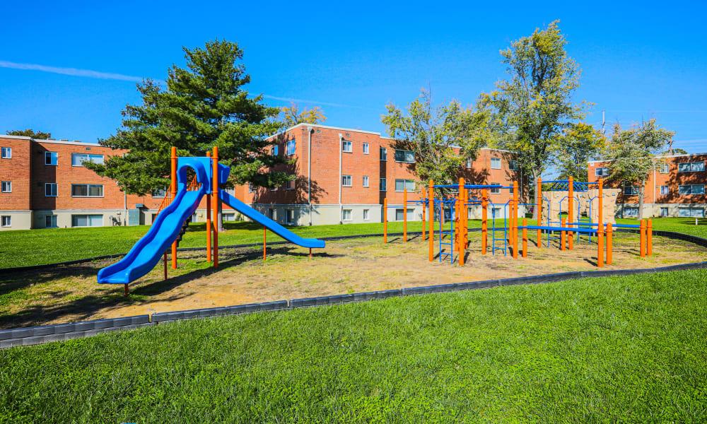 Playground at Regency Pointe in Forestville, Maryland