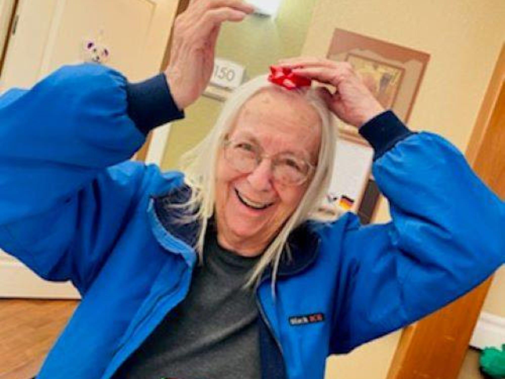 Having fun at Seven Lakes Memory Care in Loveland, Colorado