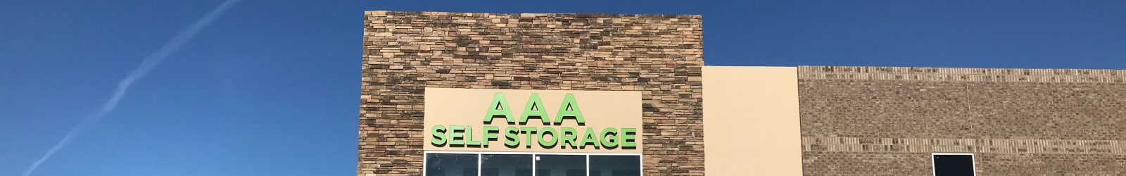 Self storage units at AAA Self Storage at Jag Branch Blvd in Kernersville, NC