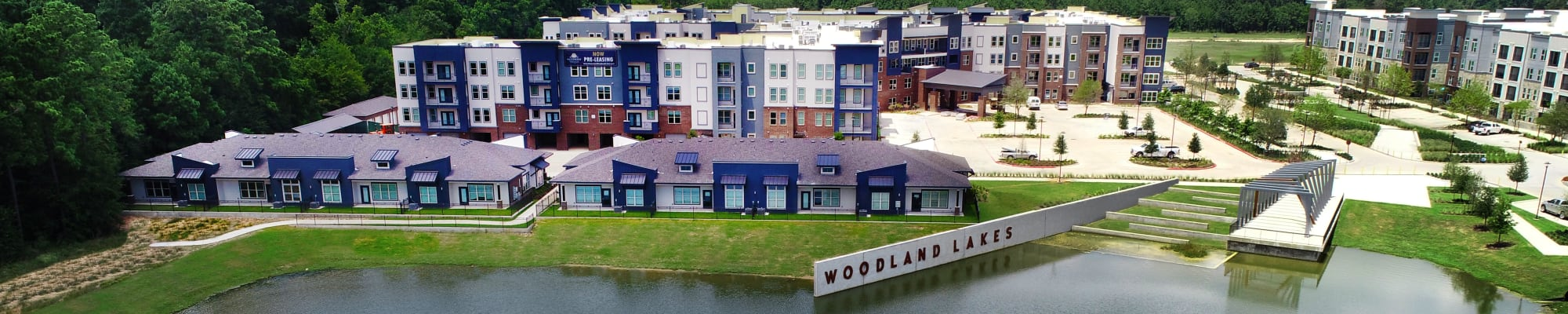 Features and amenities at Watermere at Woodland Lakes in Conroe, Texas