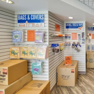 Some of the moving and packing supplies available at A-1 Self Storage