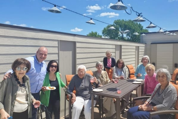 Social Hour on the Rooftop Conservatory