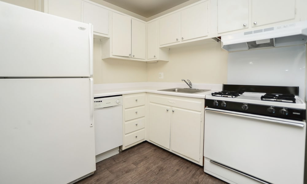 Kitchen at Burnt Mill Apartment Homes