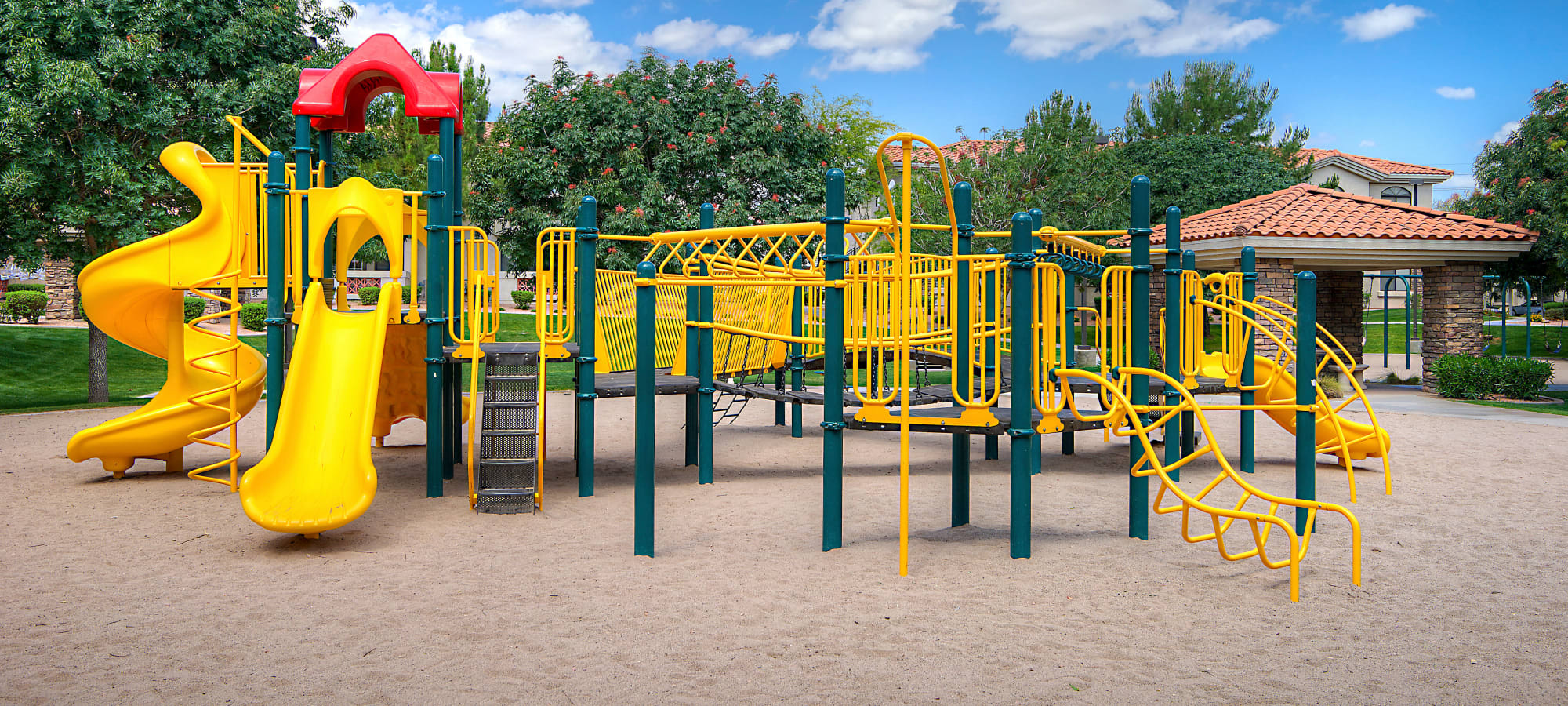Onsite playground at San Palacio in Chandler, Arizona