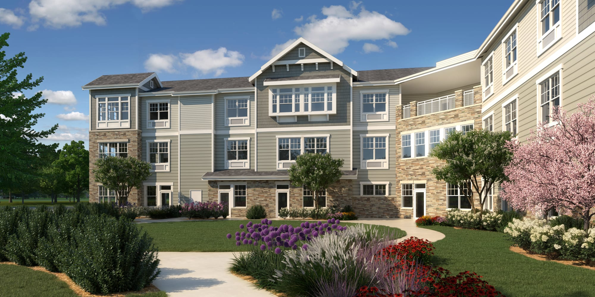 Senior living at Anthology of Farmington Hills in Farmington Hills, Michigan