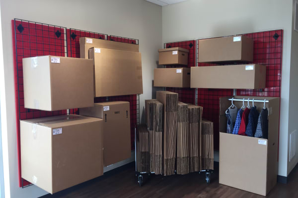 Storage boxes for sale at Freestate Self Storage