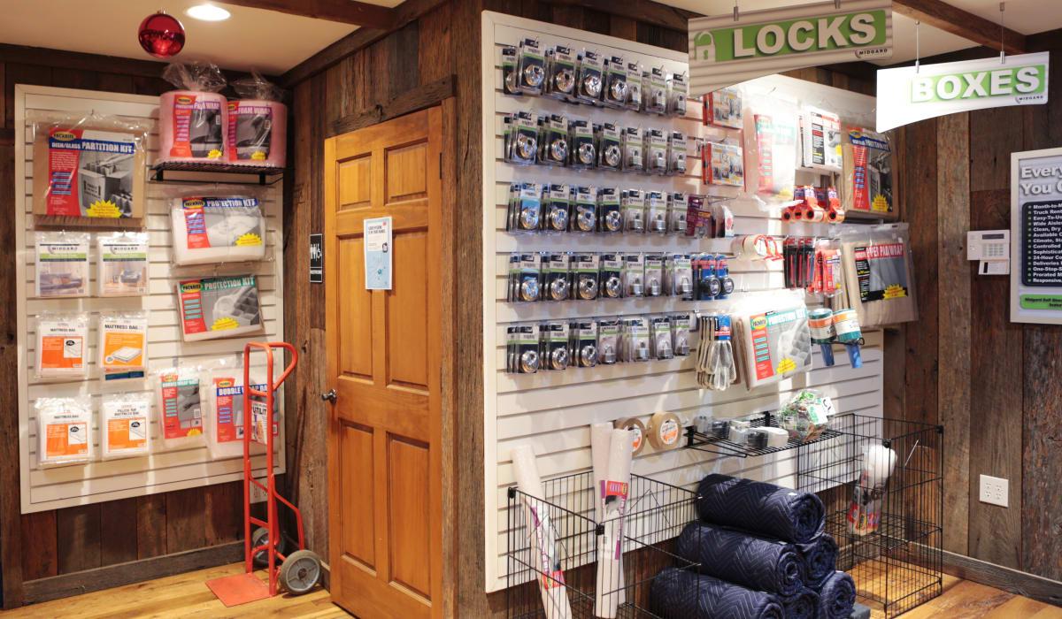 Packing Supplies at Midgard Self Storage in Cashiers, North Carolina