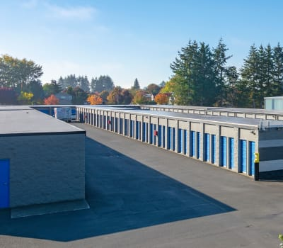 Self storage units for rent at Glacier West Self Storage in Monroe, Washington