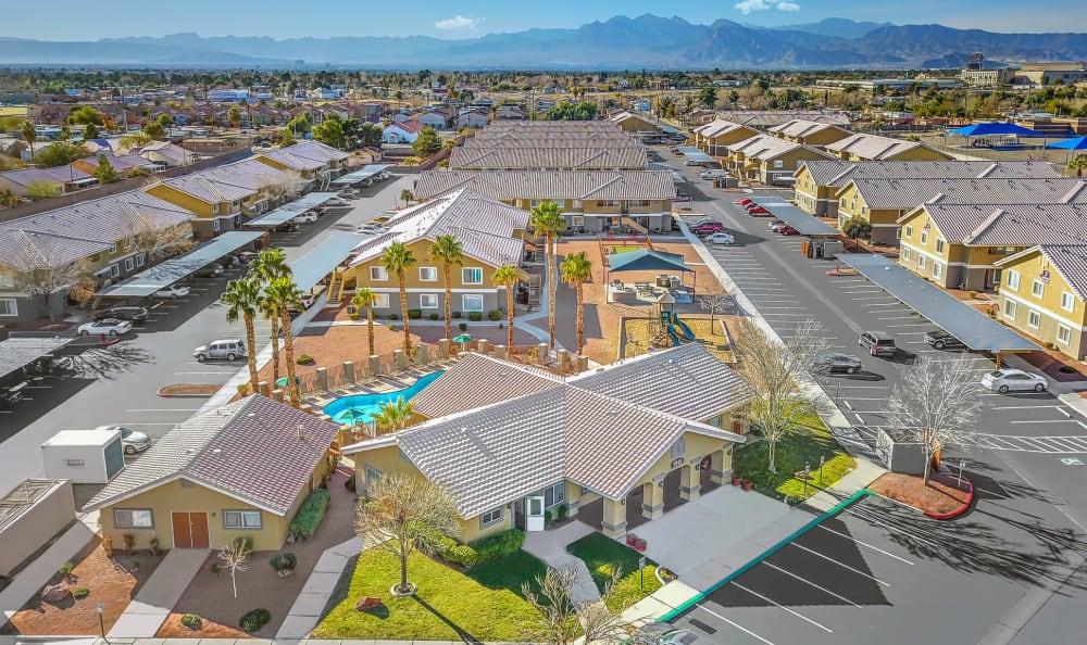 Aerial View of Property at Portola Del Sol