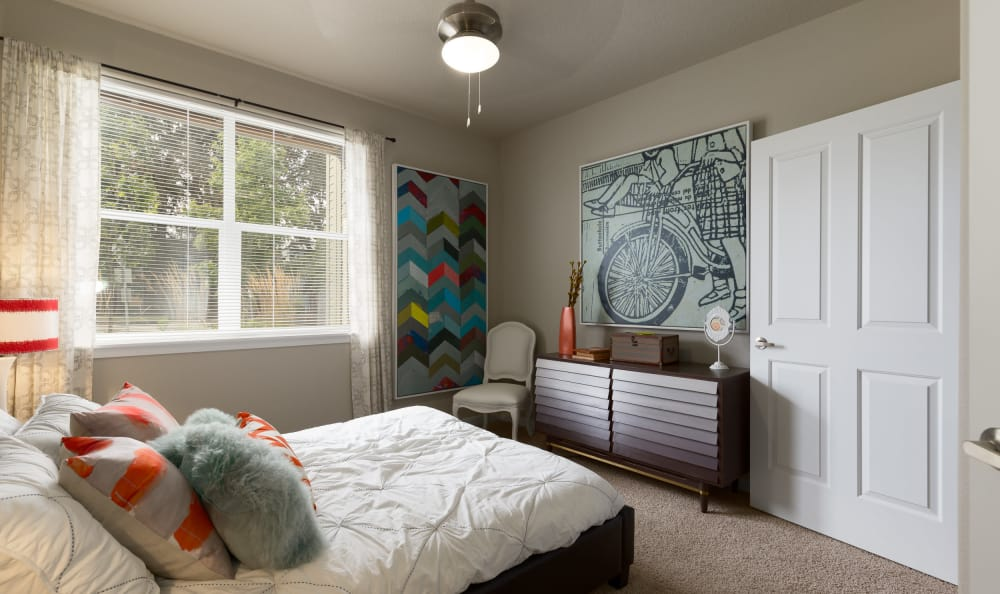 Bedroom at Terrene at the Grove