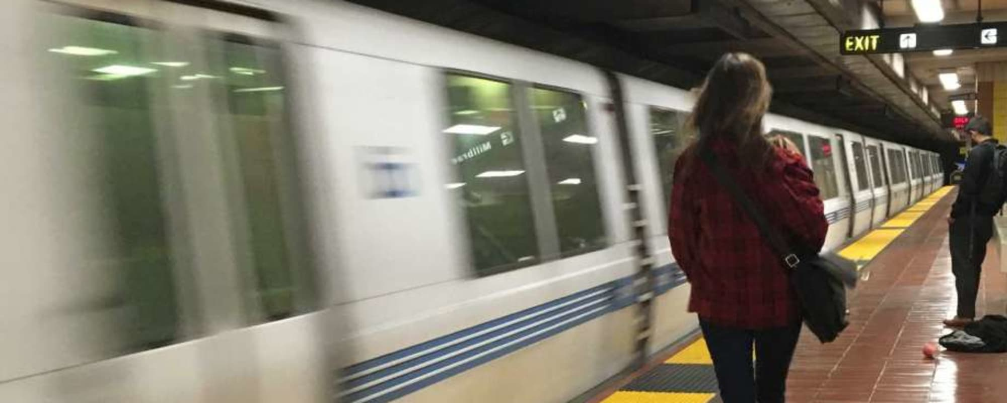 Speedy subway near The Moran in Oakland, California