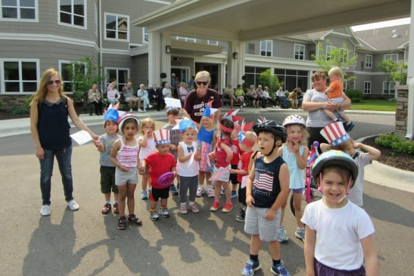 Community Parade at Deephaven Woods in Deephaven, MN