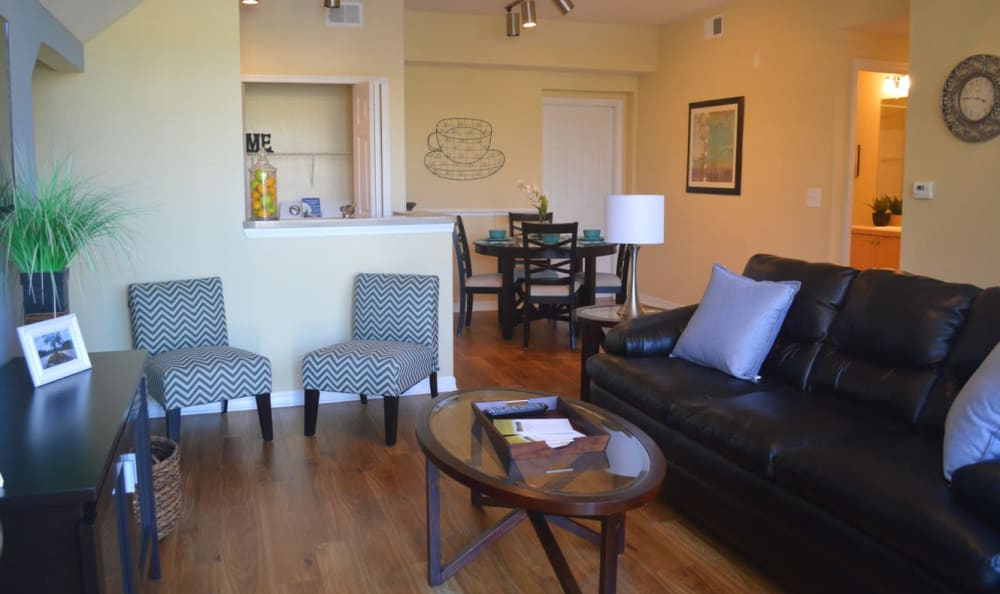 open concept living room at Springs at Palma Sola in Bradenton, FL