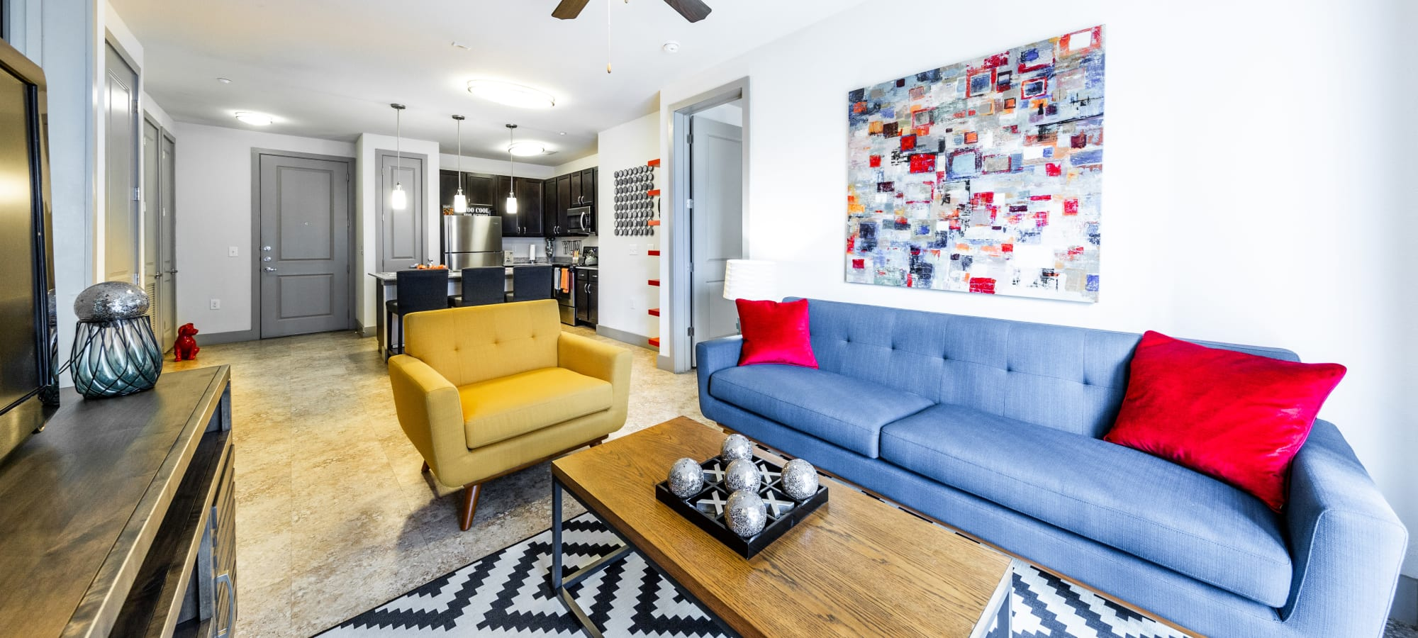 Floor plans at Regents West at 24th in Austin, Texas