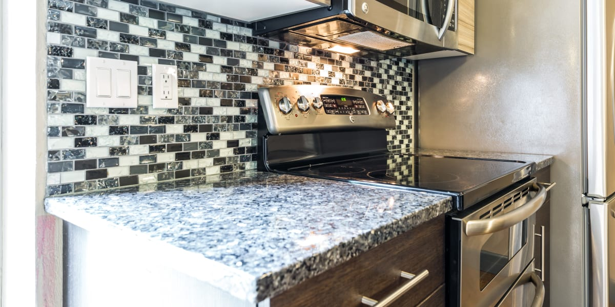 Kitchen at Copperline at Point Ruston in Tacoma, Washington
